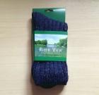 Mens Tweed Socks Blue