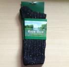 Mens Tweed Socks Grey