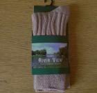 Ladies Wool Sock Beige