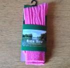 Ladies Wool Sock Pink