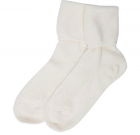 Ladies Cashmere Sock – White